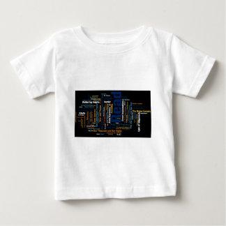 Einzelteile inspiriert durch große Arbeiten der Baby T-shirt
