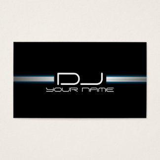 Einzigartige DJ-Visitenkarte Visitenkarten