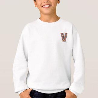 Einzigartige Geschenke für Freundnamen mit Alpha V Sweatshirt