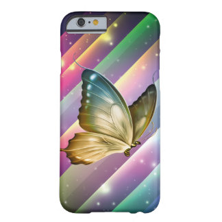 Einzigartiger bunter Sommer-Schmetterling Barely There iPhone 6 Hülle