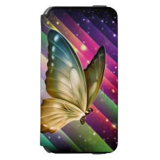 Einzigartiger bunter Sommer-Schmetterling Incipio Watson™ iPhone 6 Geldbörsen Hülle