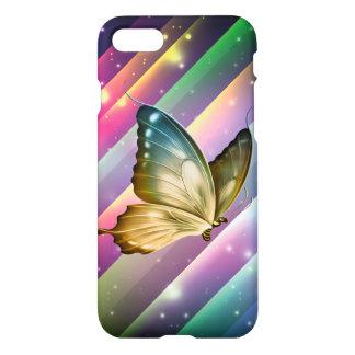 Einzigartiger bunter Sommer-Schmetterling iPhone 8/7 Hülle