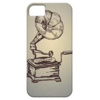 Einzigartiger Vintager Plattenspieler. Retro iPhone 5 Case