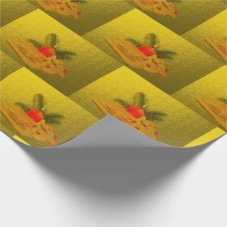einzigartiges, glattes Packpapier, bunt, festlich, Geschenkpapier