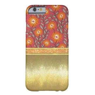 Einzigartiges Goldband kundenspezifischer iPhone Barely There iPhone 6 Hülle