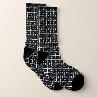 Einzigartiges Muster 101 Socken