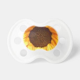 Einzige brennende Sonnenblume Baby Schnuller
