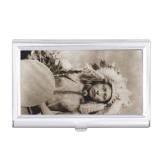 Einzige Elch-Dakotas James indischer Vintager Visitenkarten Etui