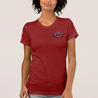Einziger Stern-roter Stern-Damen-T - Shirt