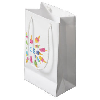 Eis-Eis-Geschenk-Tasche Kleine Geschenktüte