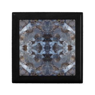 Eis-Kaleidoskopmuster Geschenkbox
