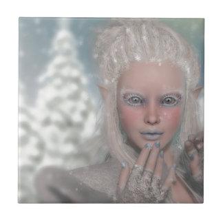 Eis-Prinzessin Kleine Quadratische Fliese