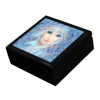 Eis-Prinzessin Trinket Box Erinnerungskiste