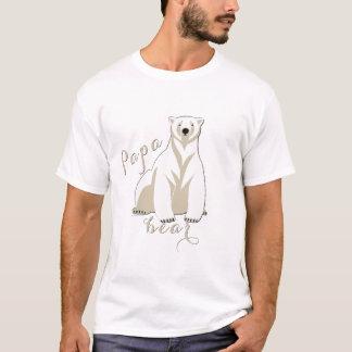 Eisbär-Familien-Papa-Bär T-Shirt