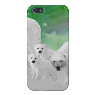 Eisbären, Junge und Nordlichter Schutzhülle Fürs iPhone 5