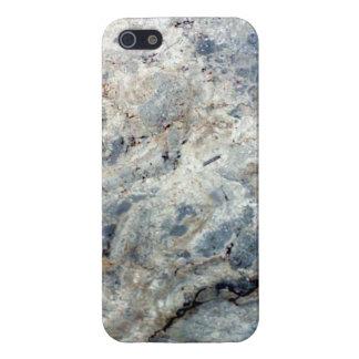 Eisblauweißes Marmorsteinende iPhone 5 Schutzhülle
