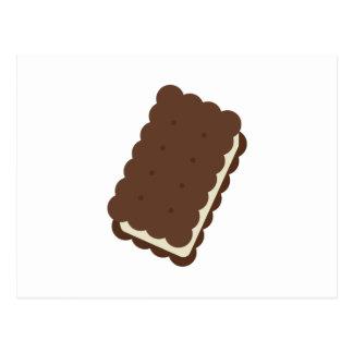 Eiscreme-Sandwich Postkarte