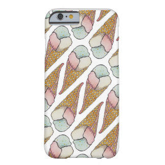 Eiscreme-Waffel-Kegel Barely There iPhone 6 Hülle