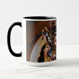 Eiscreme-Waffel-Tasse Tasse