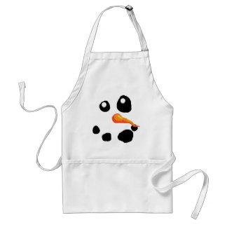 Eisig das Schneemann-Lächeln Schürze