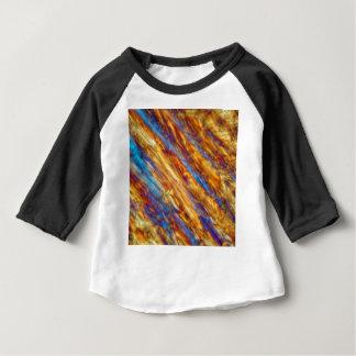 Eiskristalle des gefrorenen Apfelsaftes Baby T-shirt
