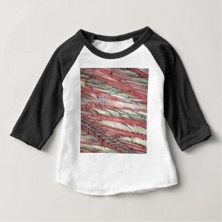Eiskristalle des gefrorenen roten Traubensafts Baby T-shirt