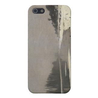 Eisschollen auf der Seine bei Bougival (1867-1868) iPhone 5 Hüllen