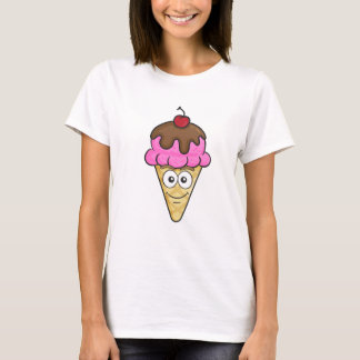 Eistüte Emoji T-Shirt