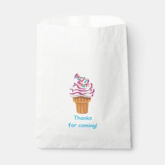 Eistüte scherzt Bevorzugungs-Tasche Geschenktütchen