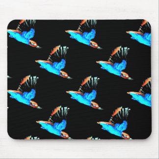 Eisvogel-Kunst Mauspad