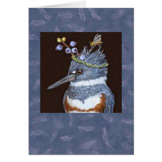 Eisvogelkarte II Grußkarte