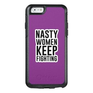 Eklige Frauen behalten kämpfendes OtterBox OtterBox iPhone 6/6s Hülle