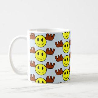 Elch-Gesichts-Tasse Tasse