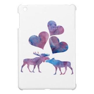 Elch-Kunst iPad Mini Hülle