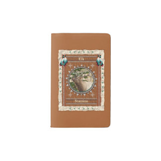 Elche - Ausdauer-Notizbuch-Moleskin-Abdeckung Moleskine Taschennotizbuch