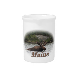 Elche Maines Stier Getränke Krüge