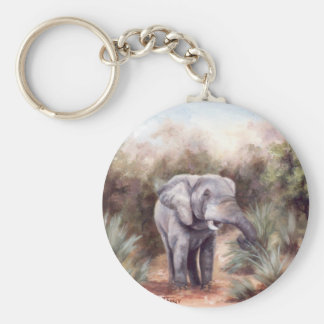 Elefant, der DURCH Keychain KOMMT Schlüsselanhänger
