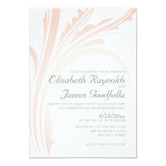 Elegant blühen Sie Hochzeits-Einladungen 12,7 X 17,8 Cm Einladungskarte