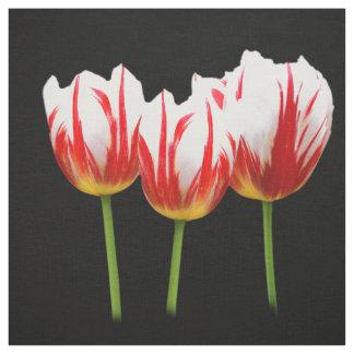 Elegante Ahornblatt-Tulpen Stoff