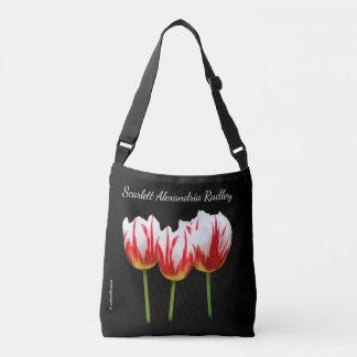 Elegante Ahornblatt-Tulpen Tragetaschen Mit Langen Trägern