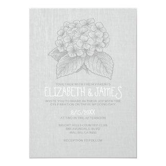 Elegante Garten-Hochzeits-Einladungen 12,7 X 17,8 Cm Einladungskarte