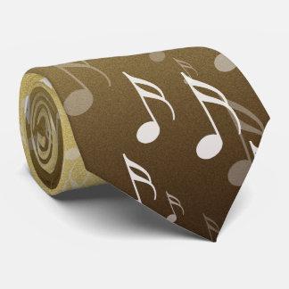 Elegante musikalische Anmerkungen über einen Bedruckte Krawatte