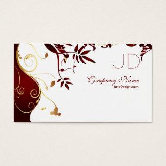 Elegante und einfache Innenarchitektur Visitenkarten