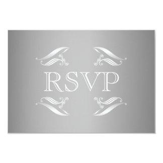 Elegante Winter-Hochzeit UAWG Karte