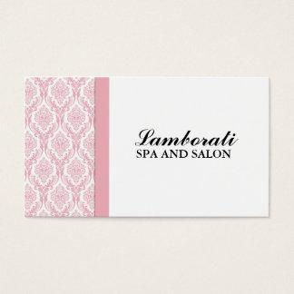 Eleganter beruflicher Cosmetologist-Damast mit Visitenkarten