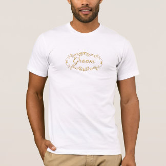 Eleganter Bräutigam T-Shirt