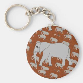 Eleganter Elefant Keychain Schlüsselanhänger