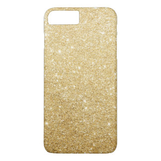 Eleganter Imitat-GoldGlitter-Luxus iPhone 7 Plus Hülle