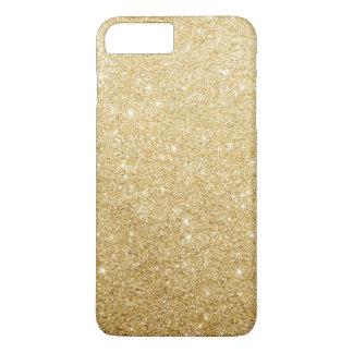 Eleganter Imitat-GoldGlitter-Luxus iPhone 8 Plus/7 Plus Hülle