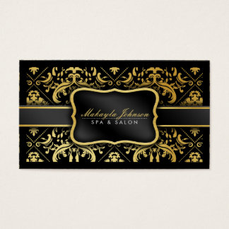 Eleganter moderner Schwarz-und Visitenkarten